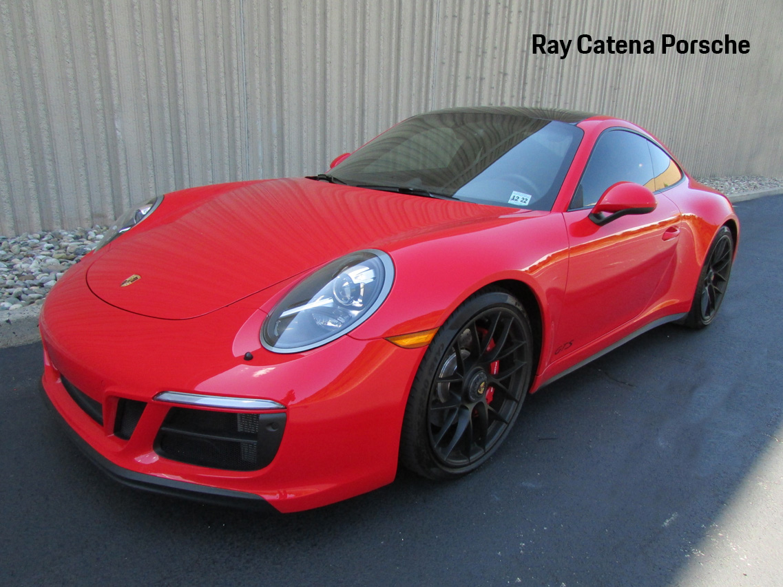 Certified Pre-Owned 2018 Porsche 911 Carrera 4 GTS