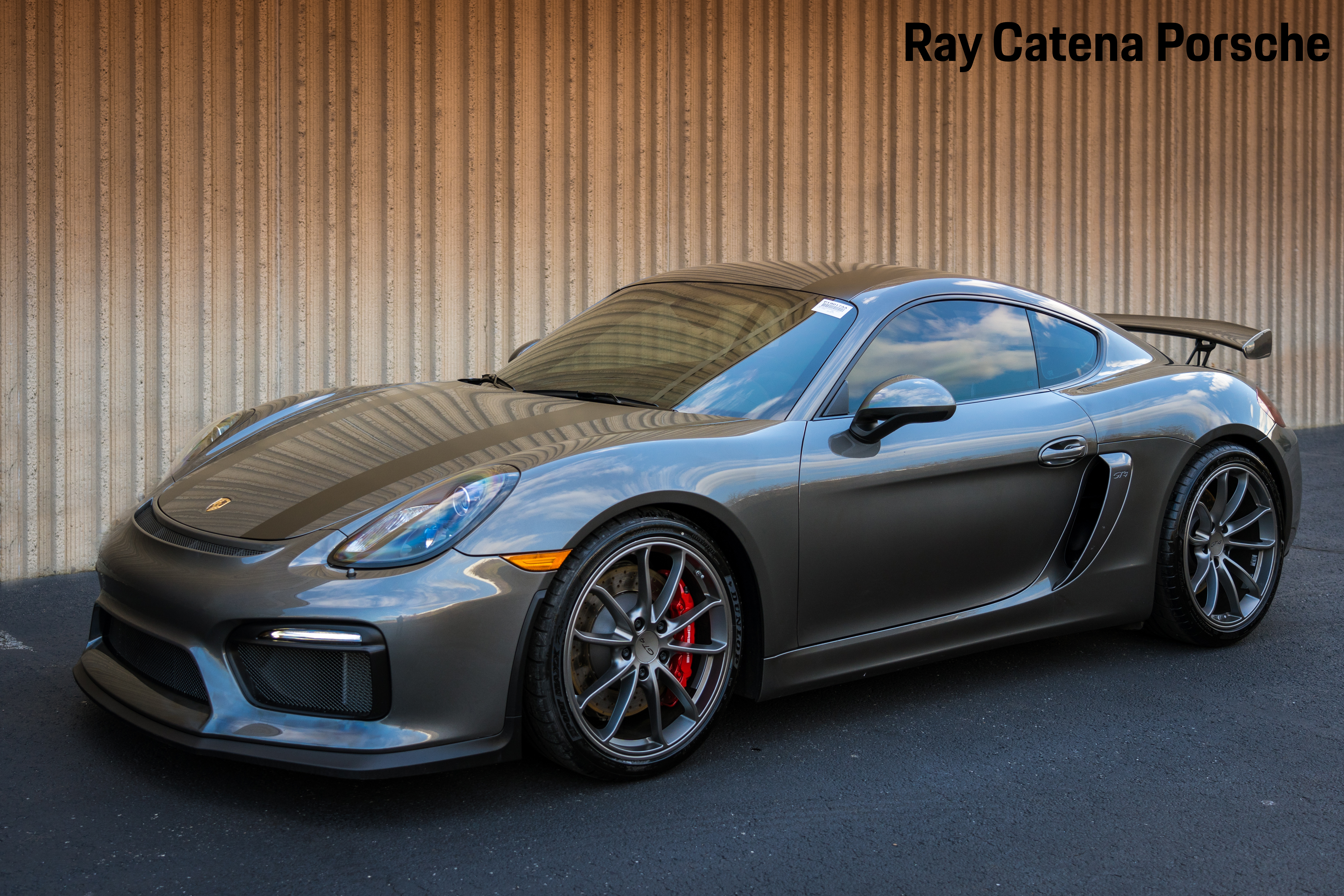 certified pre-owned 2016 porsche cayman gt4 coupe in edison