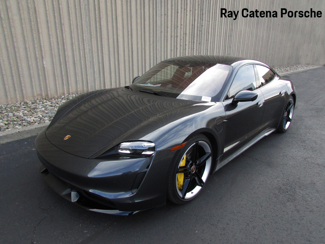 Pre-Owned 2020 Porsche Taycan Turbo S