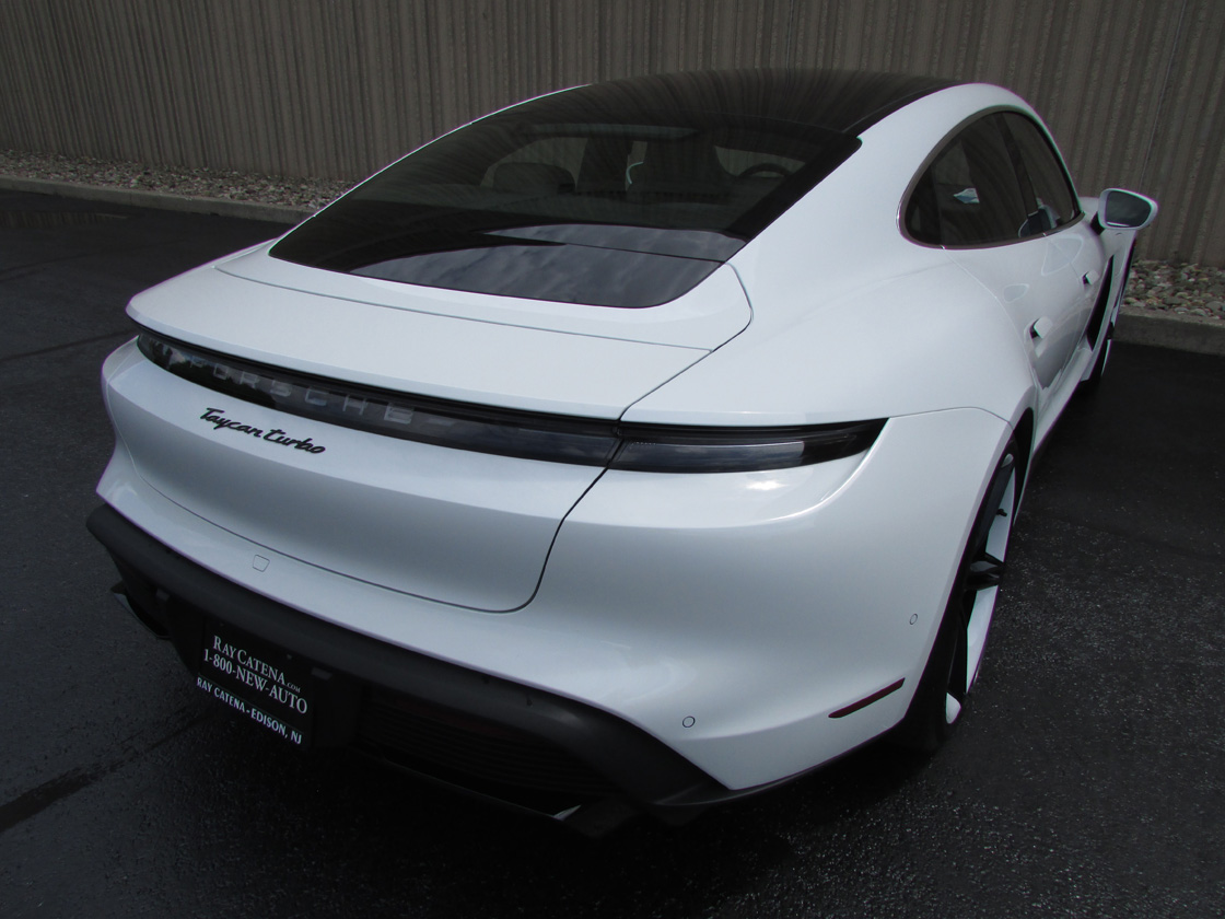 New 2020 Porsche Taycan Turbo