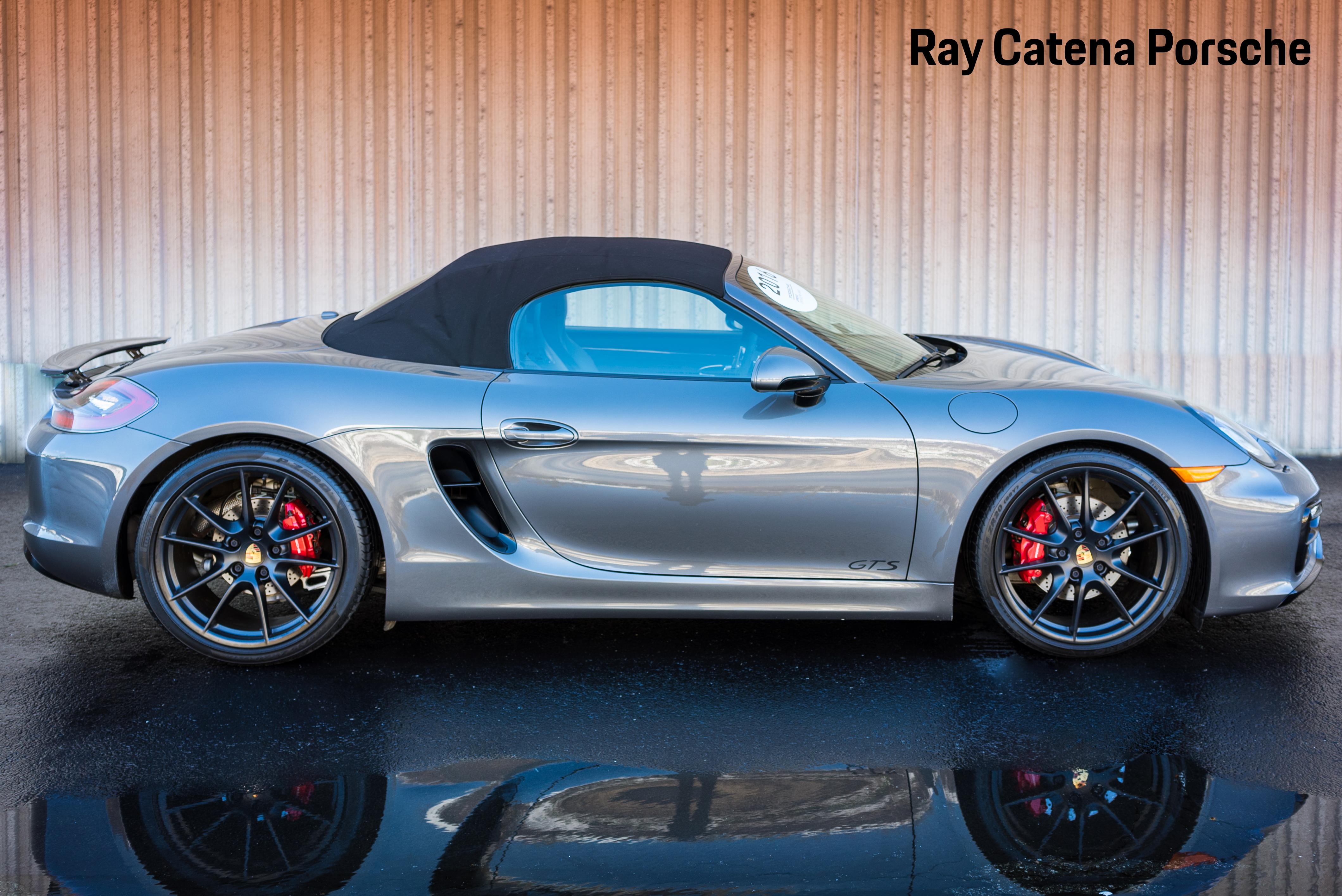 Pre-Owned 2016 Porsche Boxster GTS