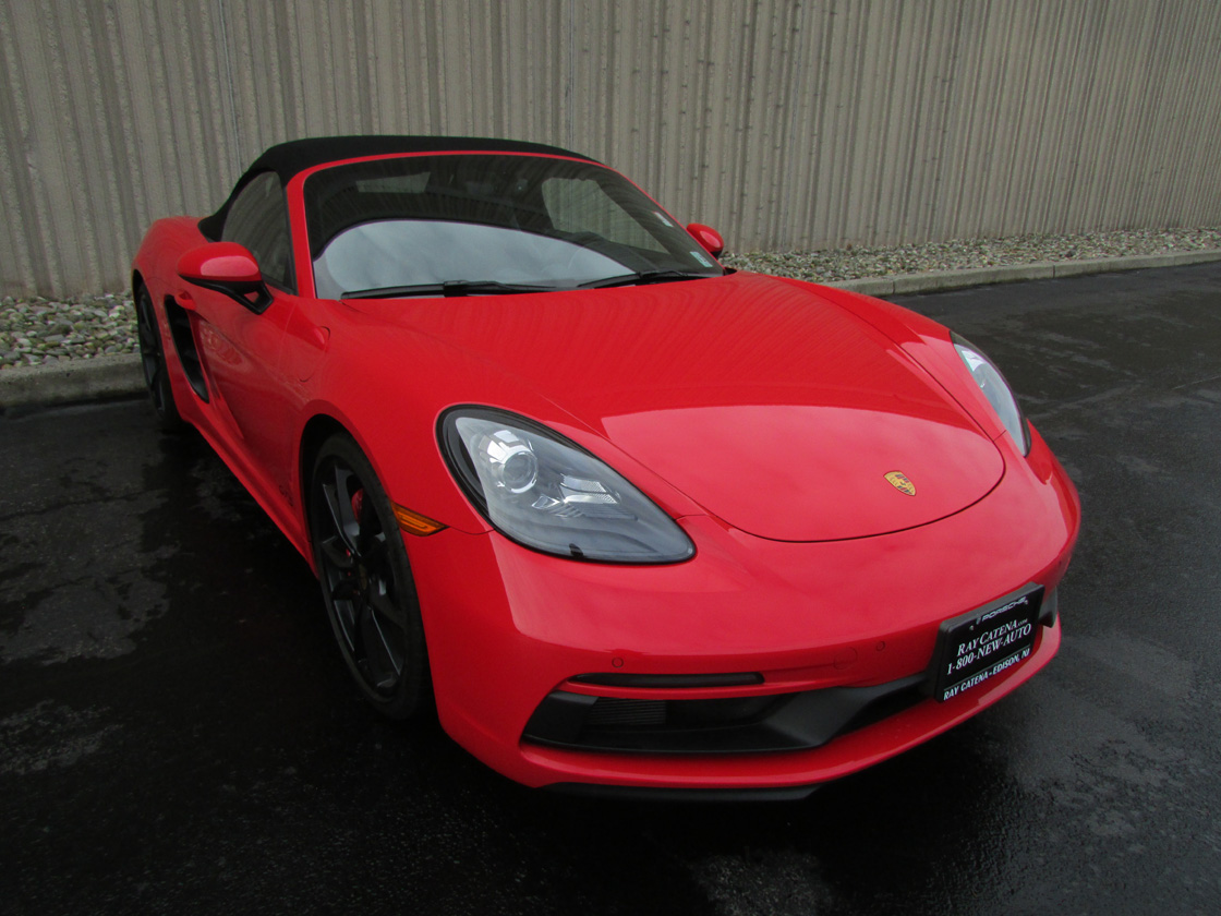 Certified Pre-Owned 2018 Porsche 718 Boxster GTS