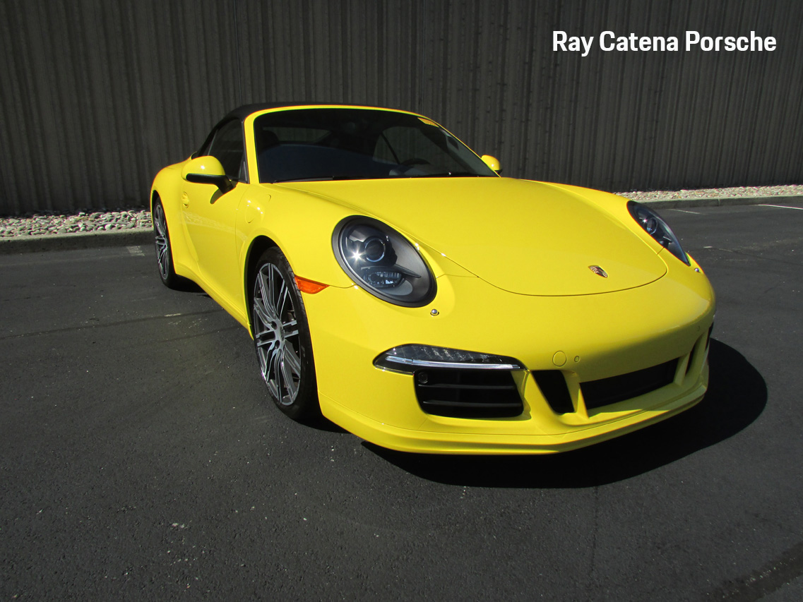 Certified Pre-Owned 2014 Porsche 911 Carrera S Cabriolet